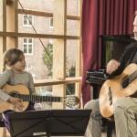 Undervisning i salen - Casa de la Guitarra - Københavns Guitarskole